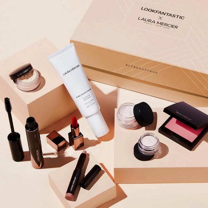 Новый бьюти-бокс Lookfantastic x Laura Mercier Limited Edition Beauty Box 2021