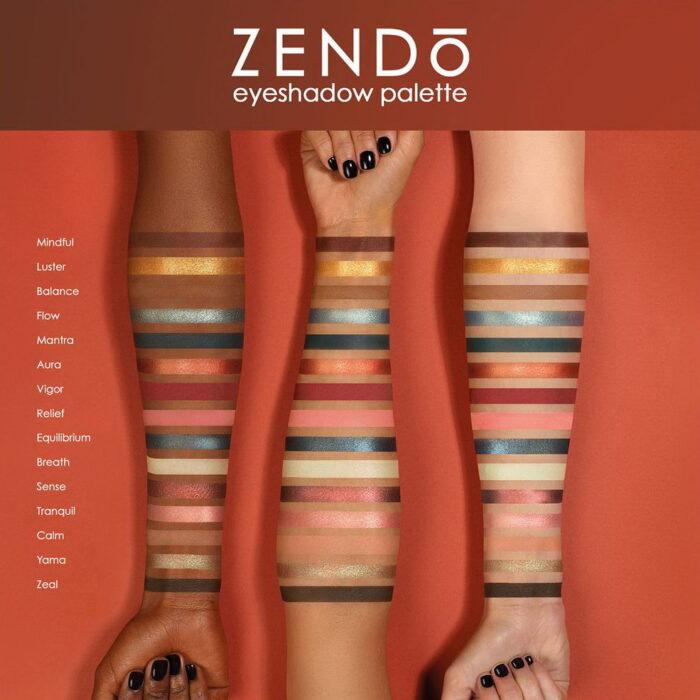 Natasha Denona Zendo Eyeshadow Palette Summer 2021 - Swatches
