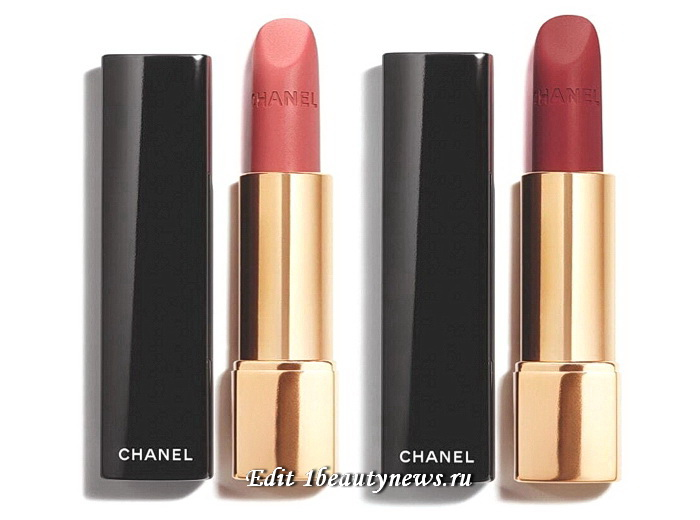 Chanel Rouge Allure Velvet Fall Winter 2021