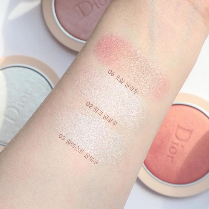 Dior Forever Couture Luminizer 2021 — Swatches