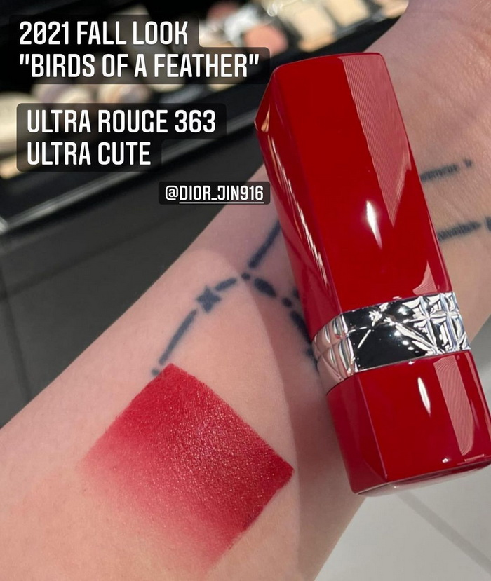 Dior Birds Of A Feather Makeup Collection Fall 2021 - Swatches