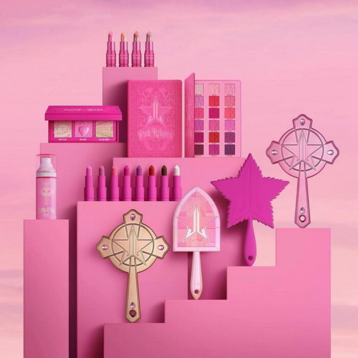 Jeffree Star Pink Religion Makeup Collection 2021