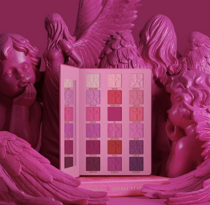 Jeffree Star Pink Religion Eyeshadow Palette