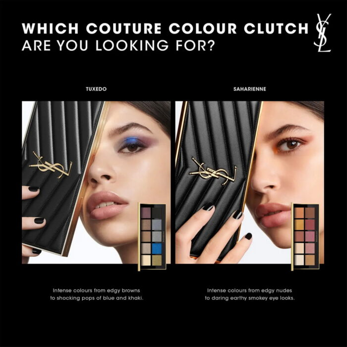 YSL Exclusive Couture Colour Clutch Eyeshadow Palettes 2021