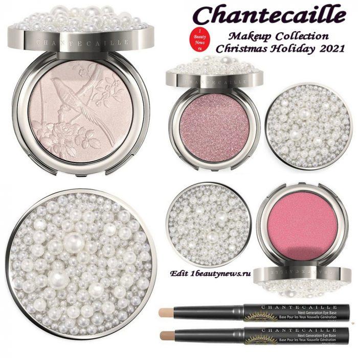 Рождественская коллекция макияжа Chantecaille Makeup Collection Christmas Holiday 2021