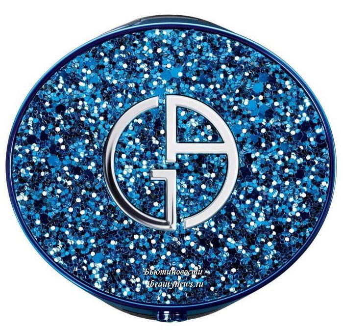 Giorgio Armani Designer Mesh Cushion Blue Pearl  Edition 2021