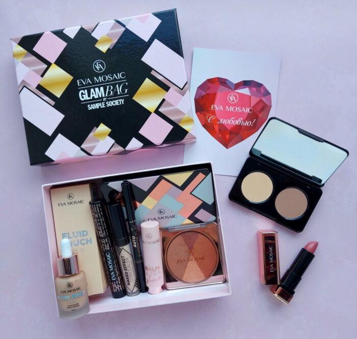 Новый бьюти-бокс GlamBag x Eva Mosaic Beauty Box 2021