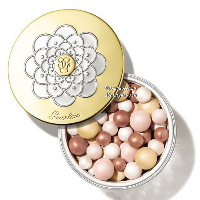Guerlain Meteorite Beille Gold Pearl Christmas Holiday 2021
