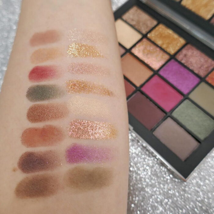 NARS Makeup Collection Christmas Holiday 2021 - Swatches