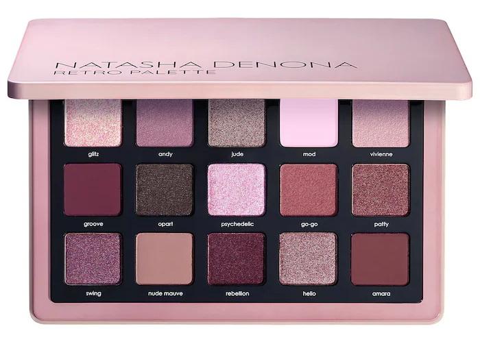 Natasha Denona Retro Eyeshadow Palette  2021