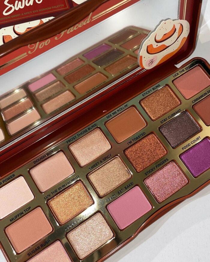 Too Faced The Cinnamon Swirl Sweet & Spicy Eye Shadow Palette Fall 2021