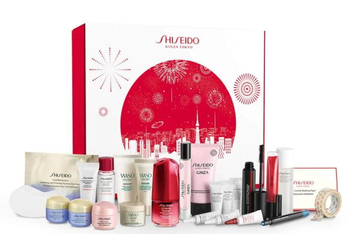 Рождественский адвент-календарь Shiseido Exclusive Advent Calendar 2021: полный состав
