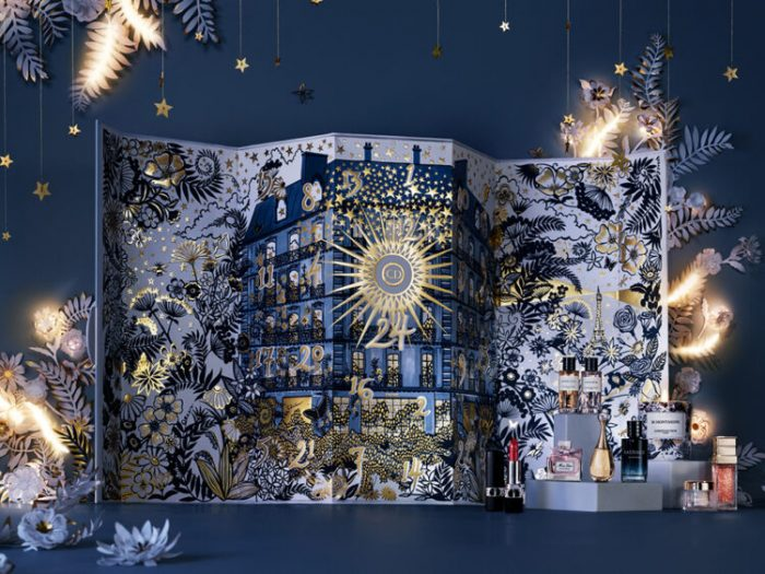 Рождественский адвент-календарь Dior Advent Calendar 2021: полный состав