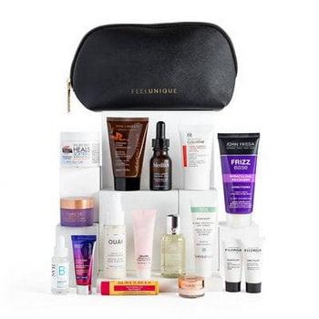 Новый гуди-бэг Feelunique Exclusive Beauty Bag October Birthday 2021