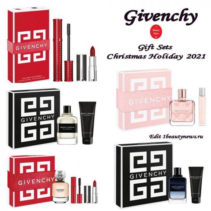 Рождественские подарочные наборы Givenchy Gift Sets Christmas Holiday 2021