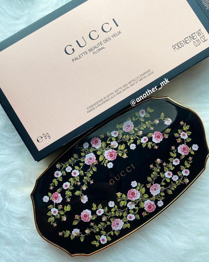 Gucci Des Yeux Floral Eyeshadow Palette 2021