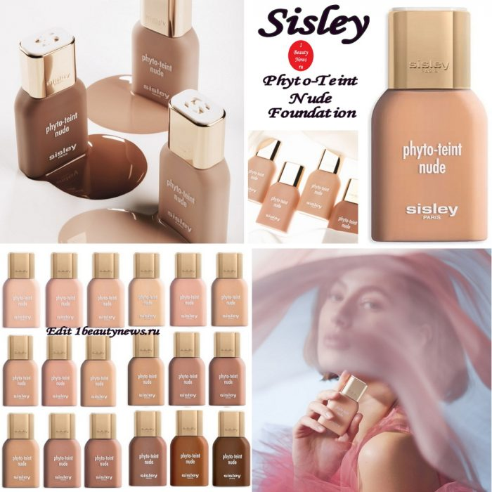 Новая жидкая тональная основа Sisley Phyto-Teint Nude Foundation 2021