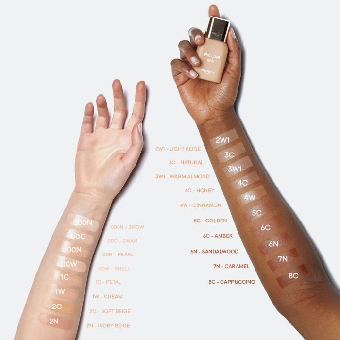 Sisley Phyto-Teint Nude Foundation - Swatches
