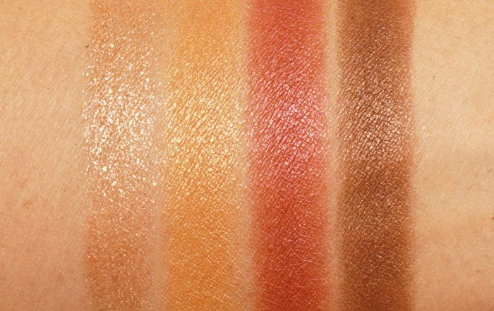 Tom Ford Eye Color Quad Leopard Sun 2021 - Swatches