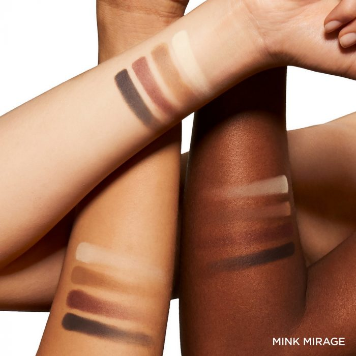 Tom Ford Eye Color Quad  Mink Mirage - Swatches